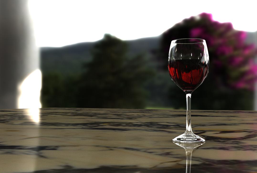 Wine Glass Concept (2017)