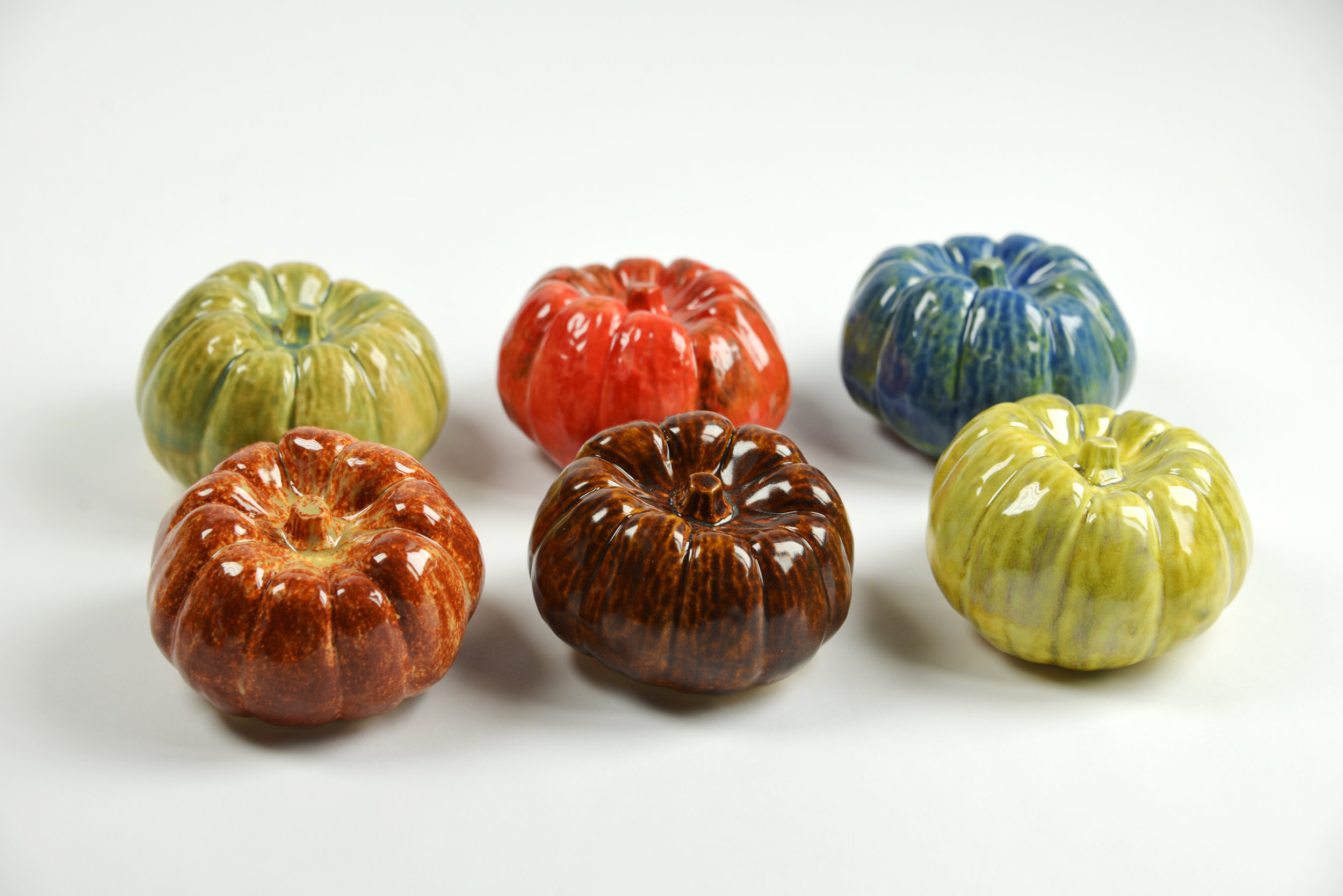 Above: Pepper mold made by Kate Blacklock, pieces cast, shaped, fired, and glazed by Megan Lee
