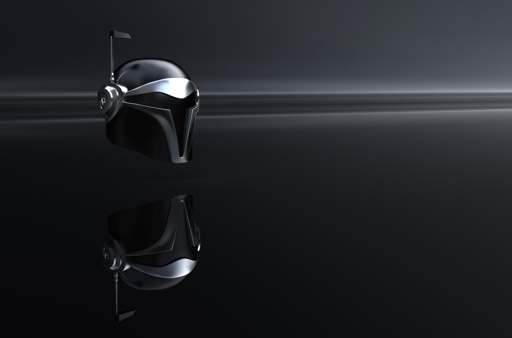 Helmet Concept: Daft Punk x Star Wars (2017)