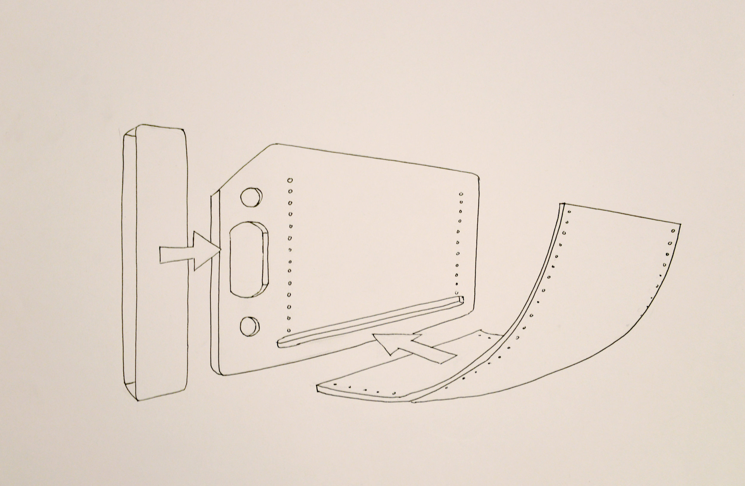 Lee, Megan Chosen Product Sketch