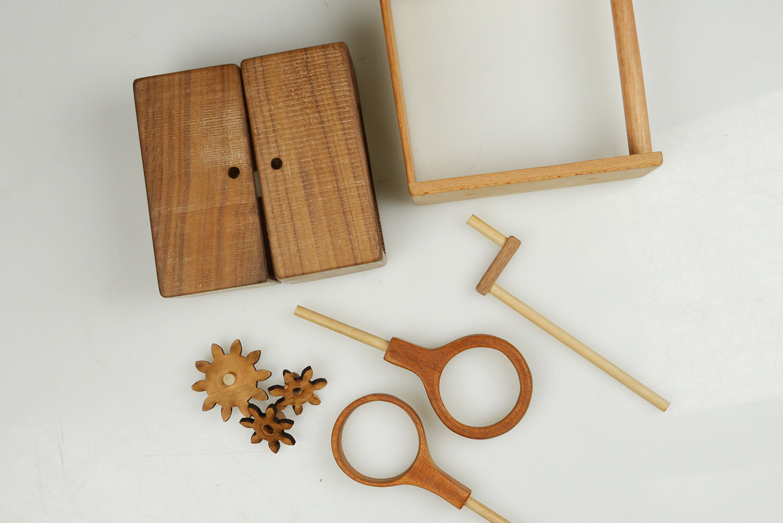 Wooden Egg Tool (2015)