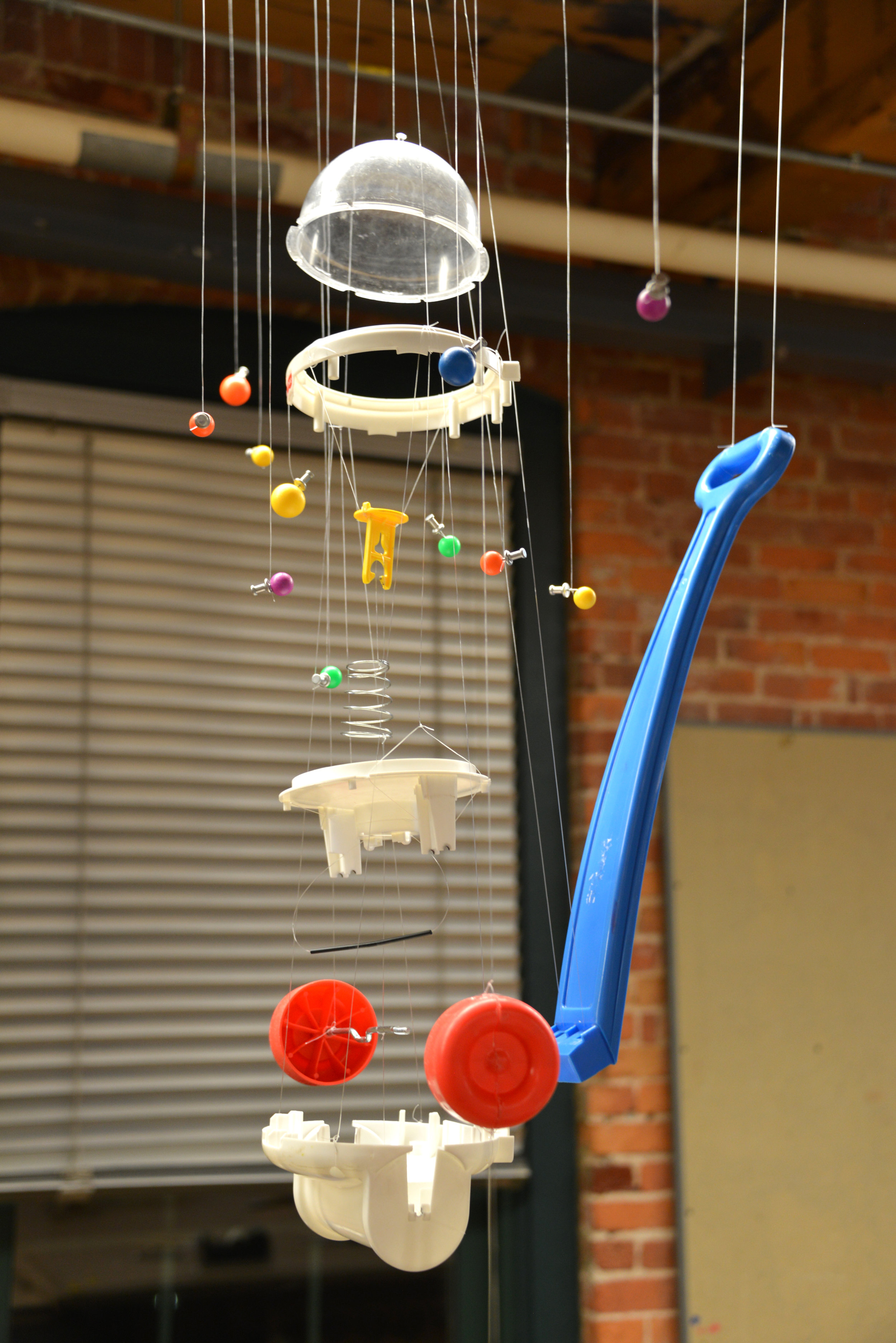 Corn Popper Exploded View (2015)