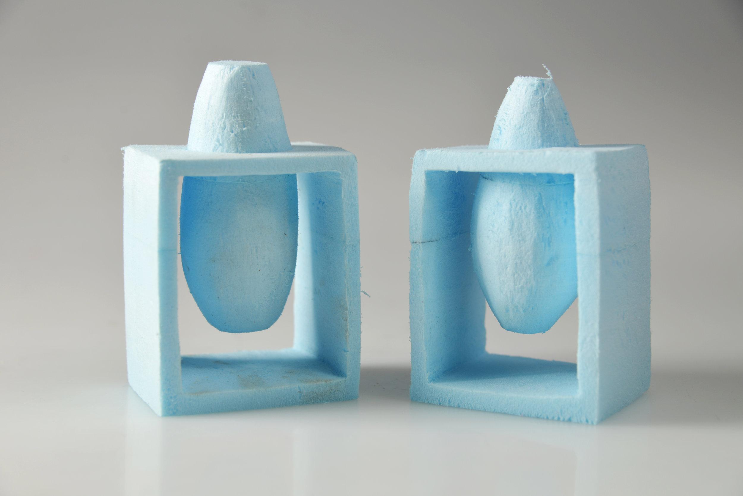 Polystyrene Foam Model (2016)