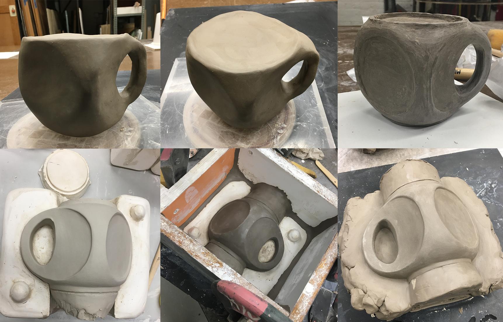 Cup Clay Models (2017)