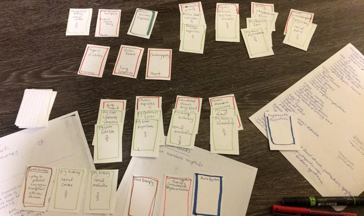 Card Game Prototype (2017)