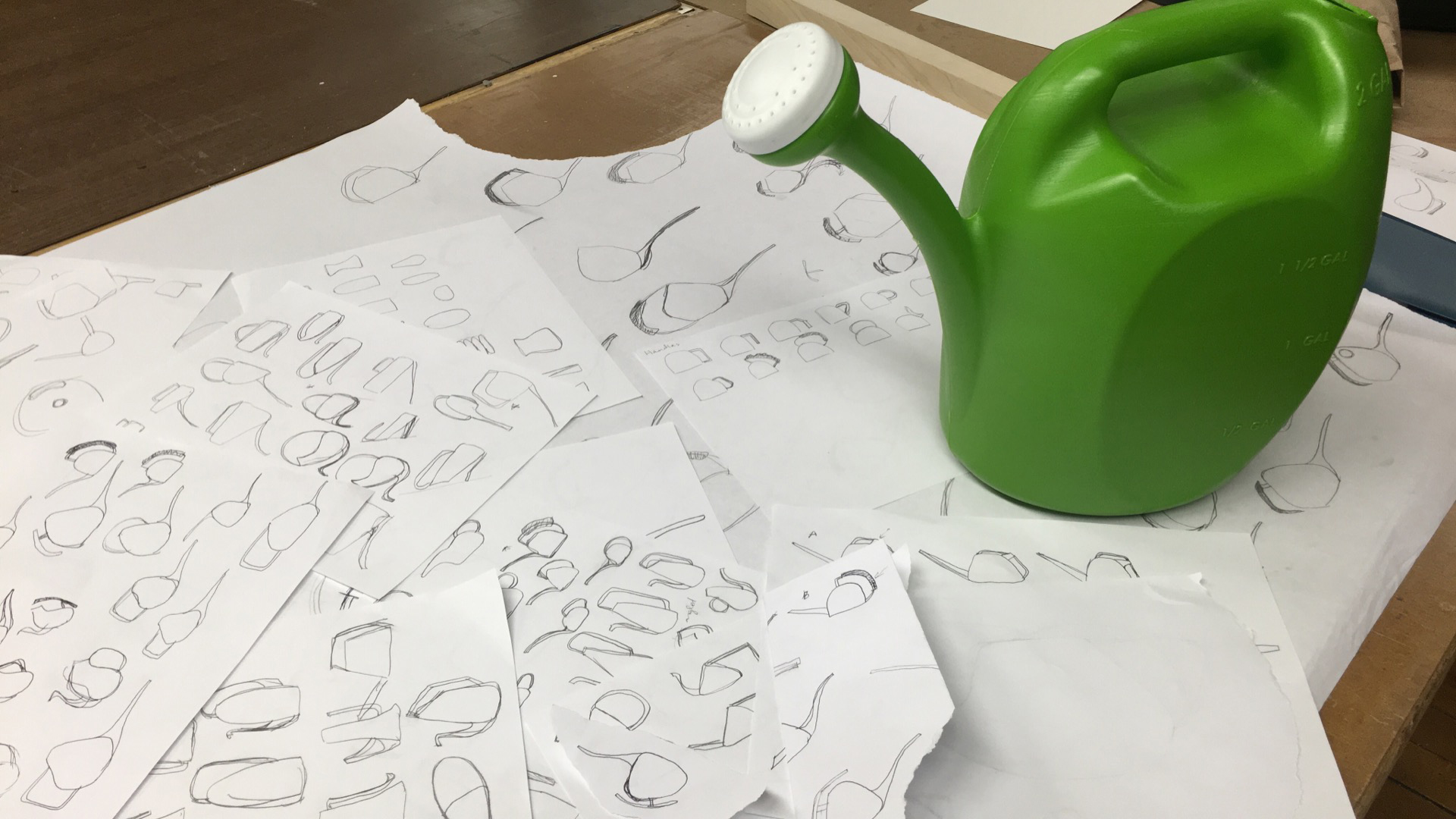 Watering Can Design (2016)