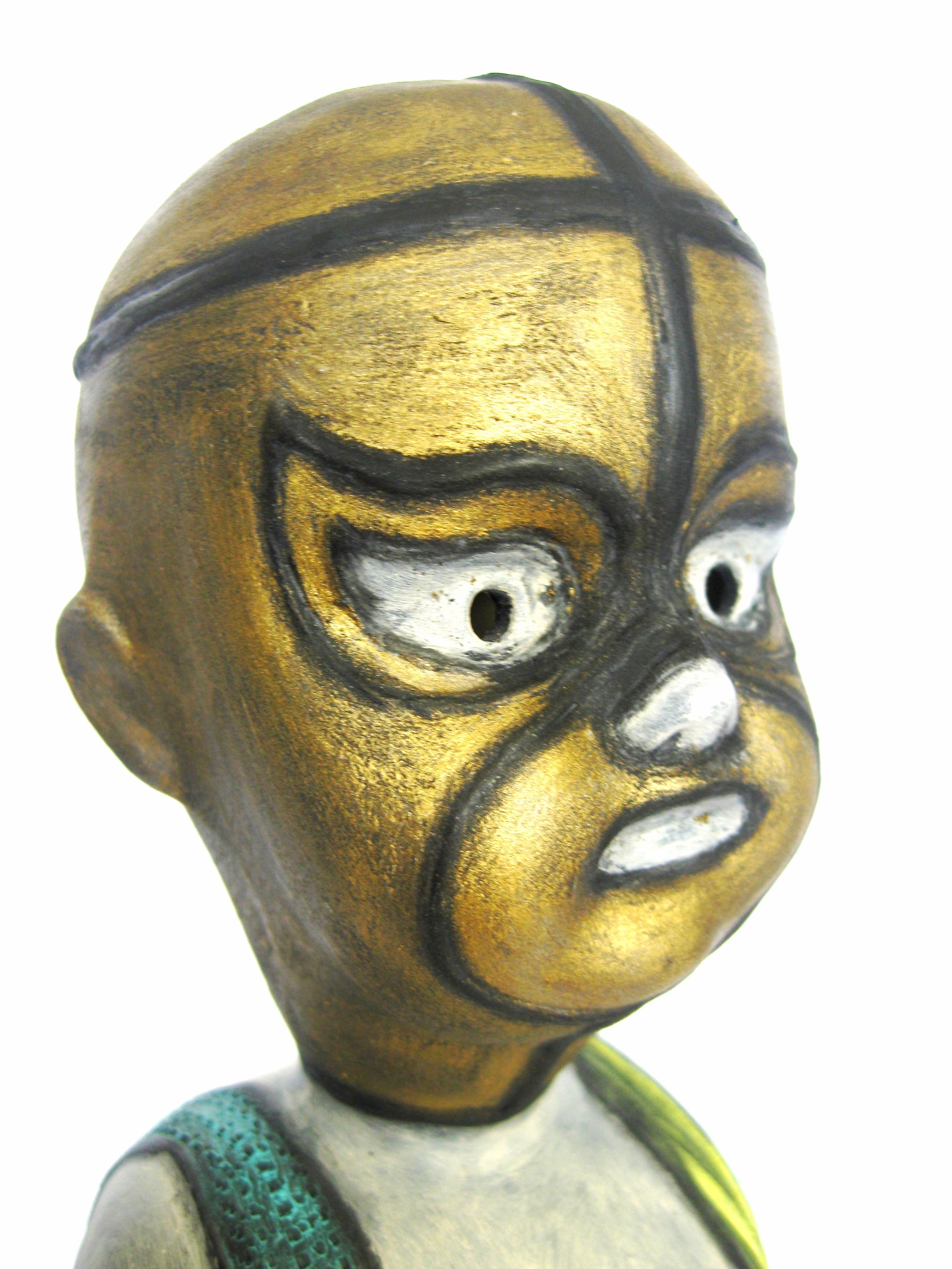 El Alga de Oro (The Golden Algae) Head Detail