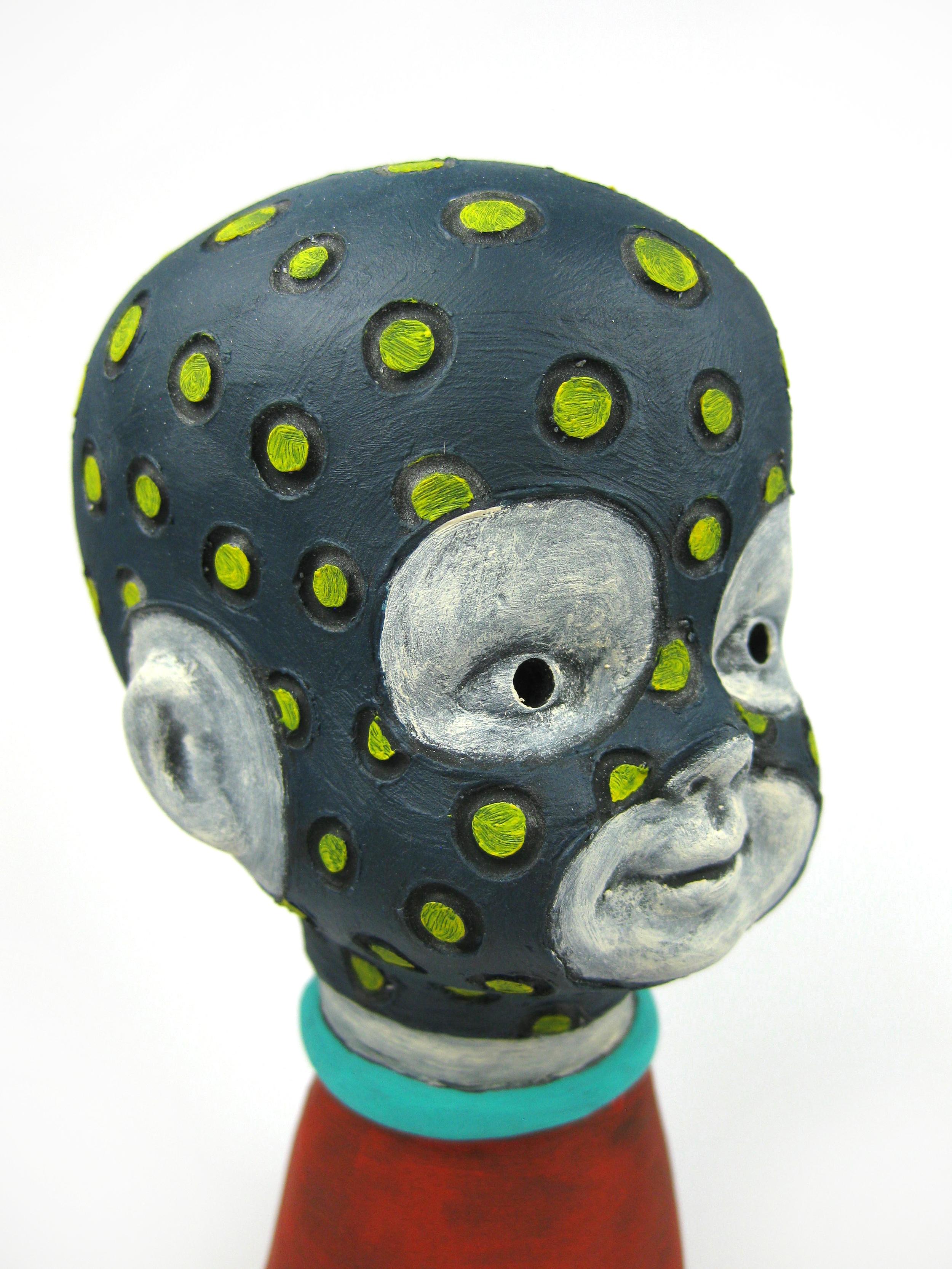 Festive Mugger (Head Detail)
