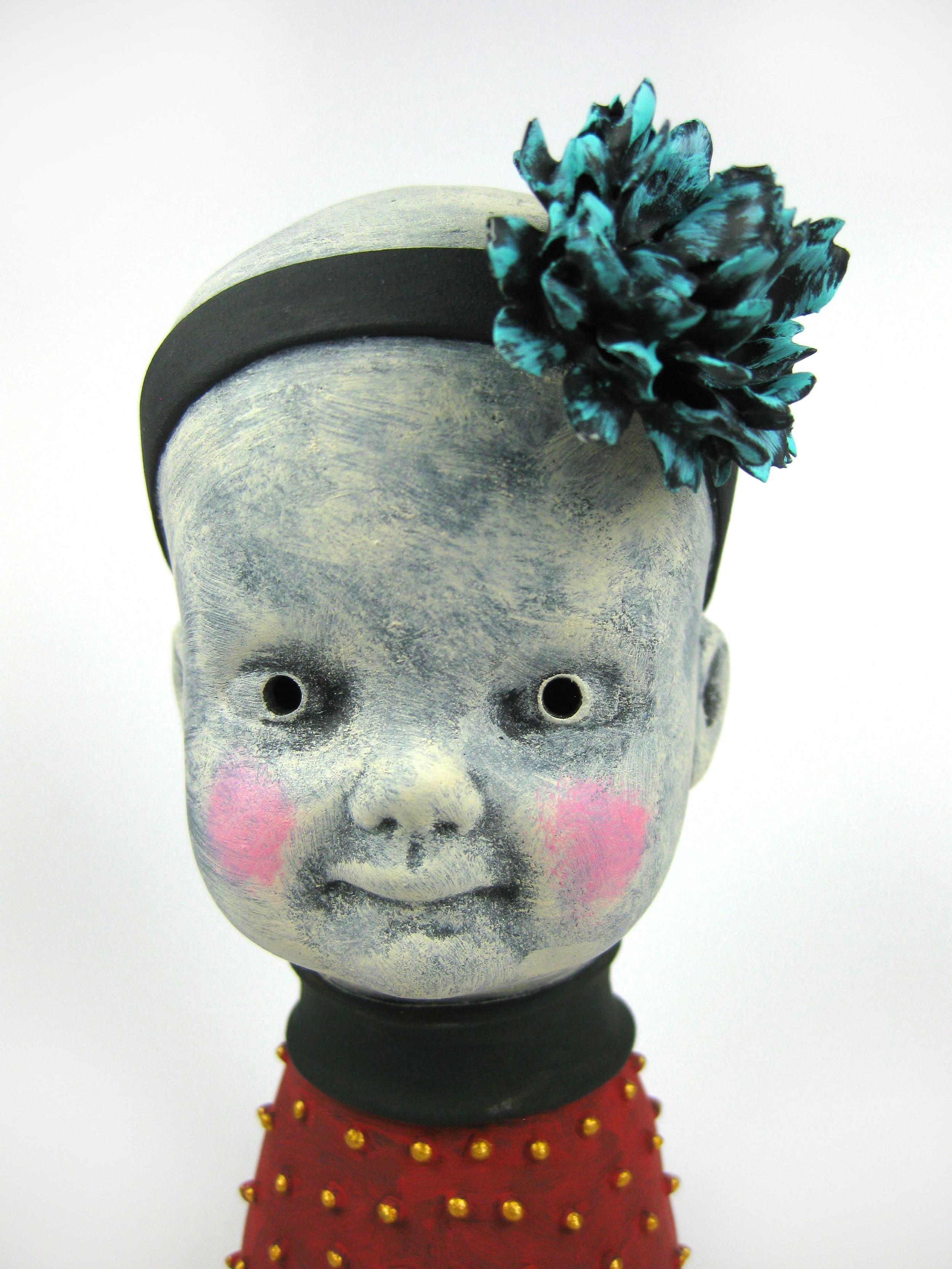 Carnation Blue (Head Detail)