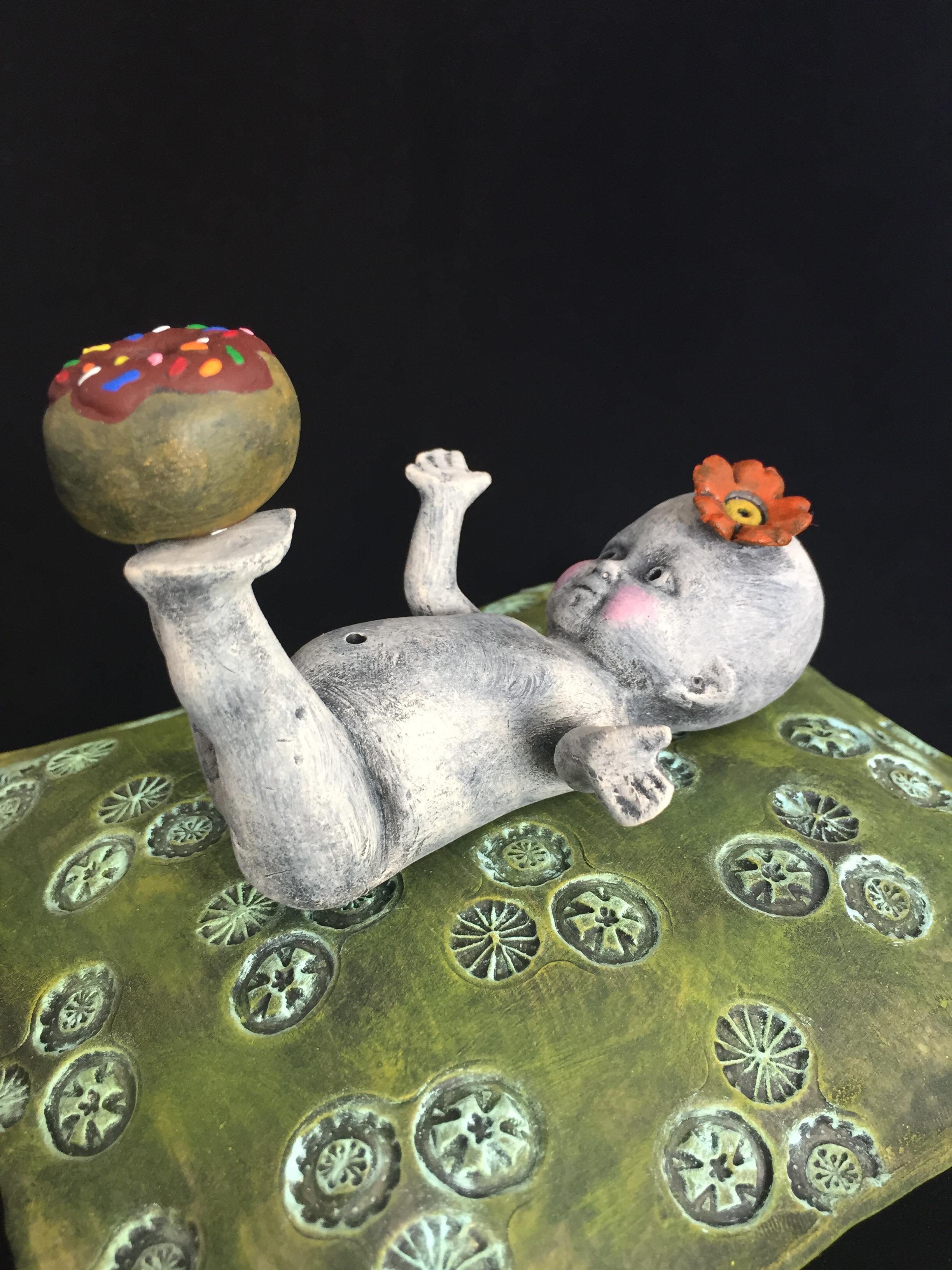 Playful Doughnut