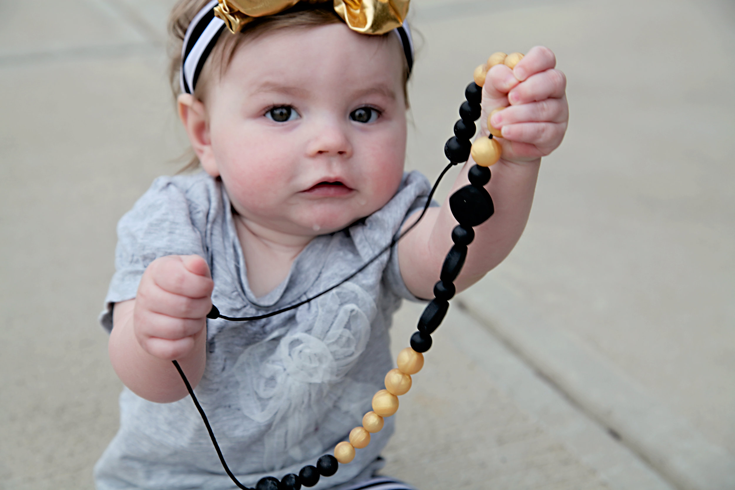 Baby & Necklace