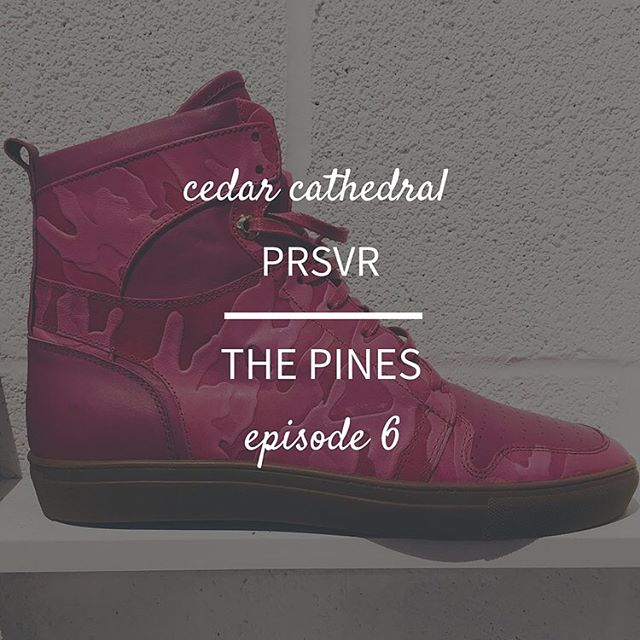 Check out our latest episode starring @prsvr and @the_pines cedarcathedral.com #podcast