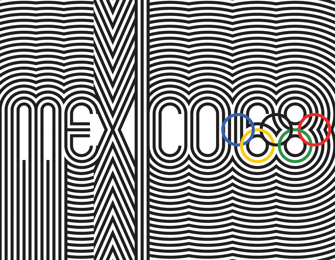 Mexico City Olympic Games 68 Graphic Identity