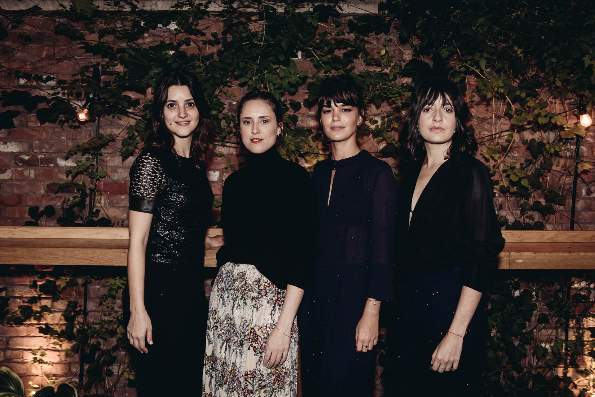 Larissa Ferreira, Verena Smit, Camila Leite and Juliana Leandra / Photo: Fernando Godoy