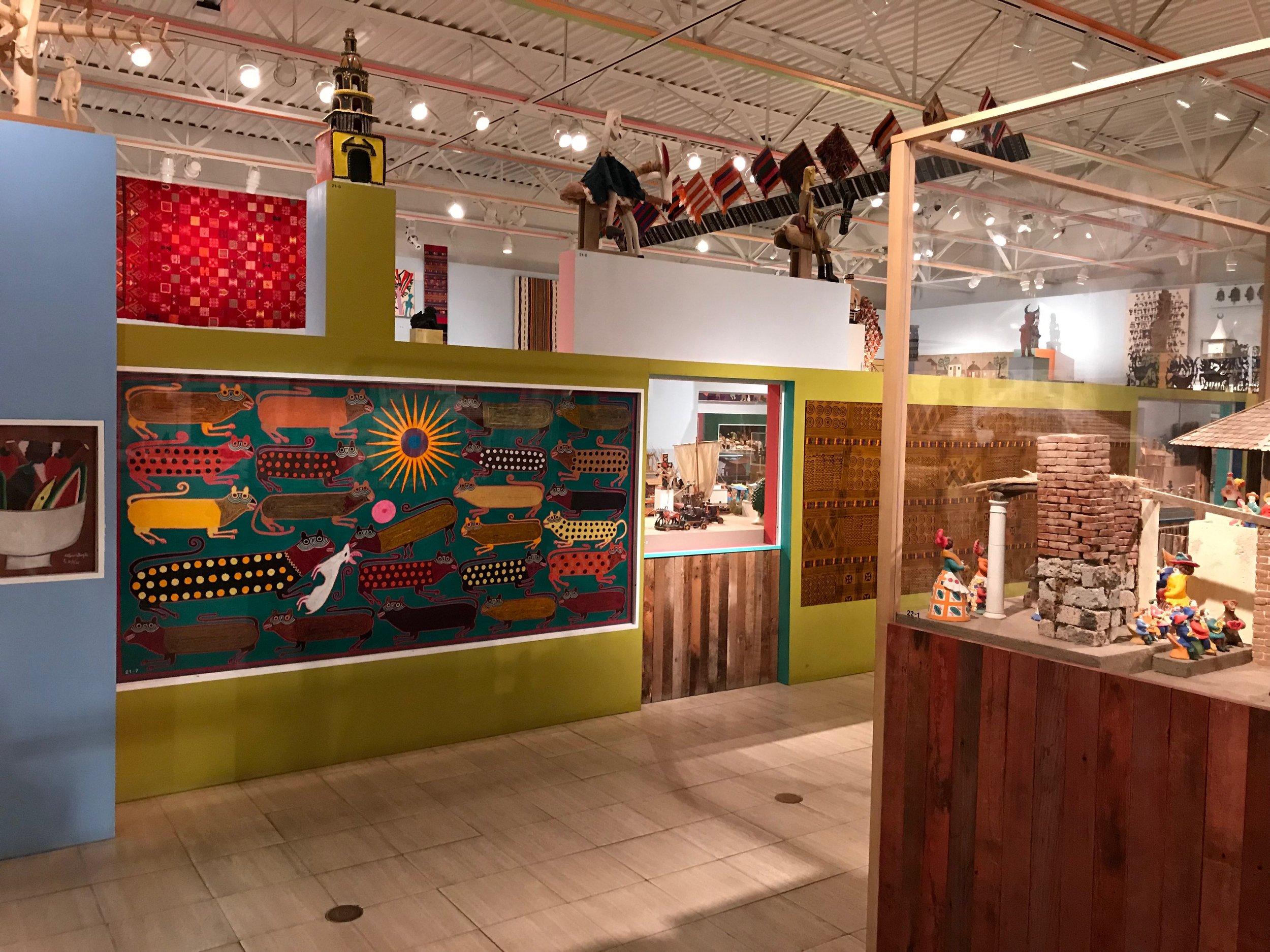 Alexander Girard Wing at The Museum of International Folk Art