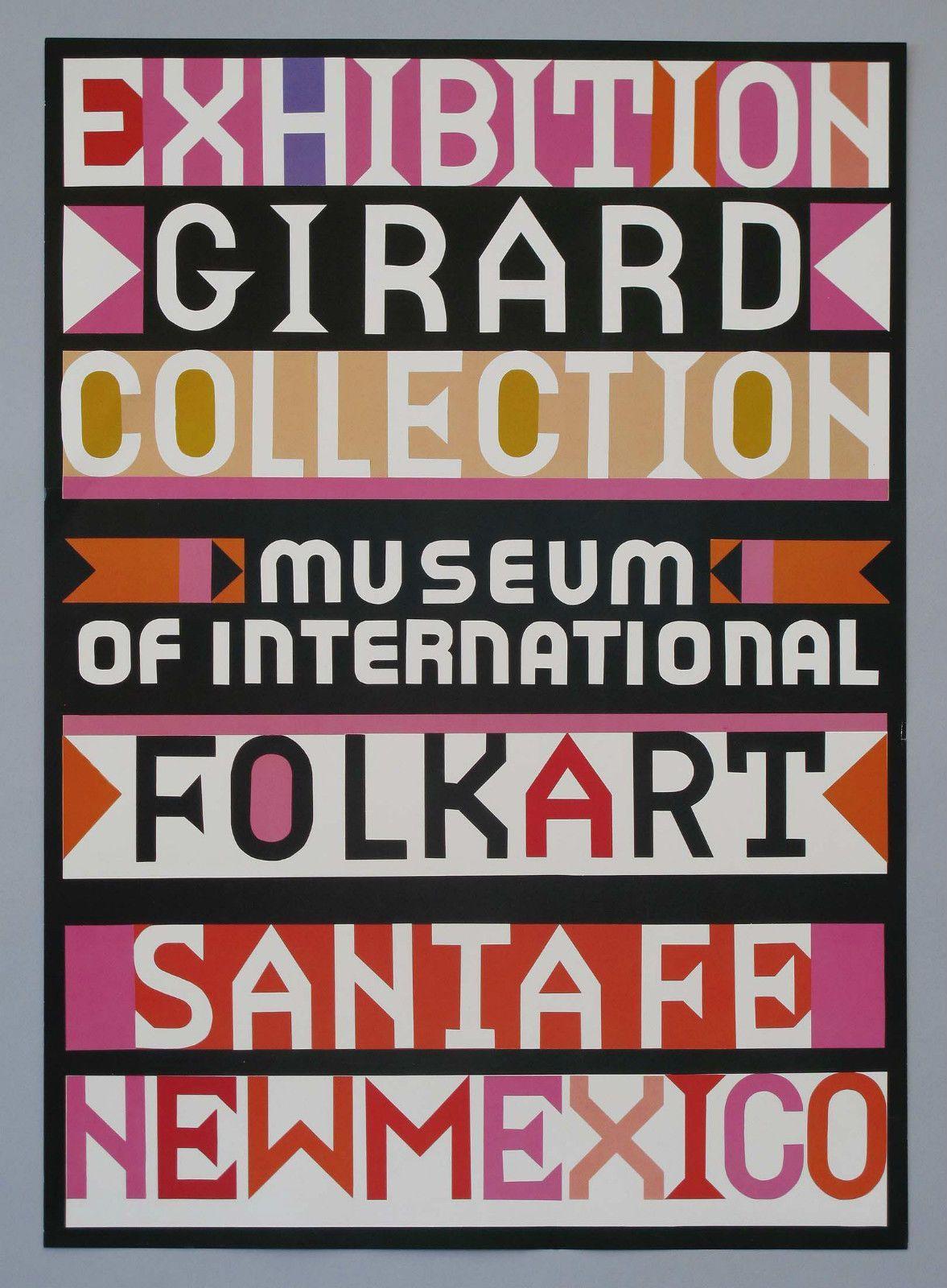 Alexander Girard Girard Collection at The Museum of International Folk Art