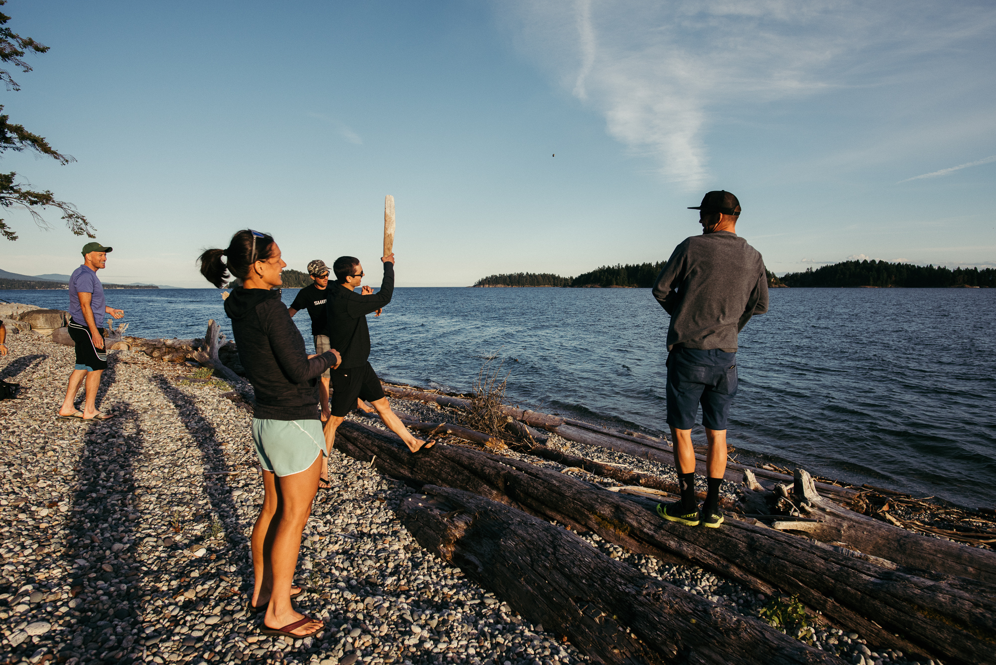 Sechelt, at the Sneddons, Photo: Margus Riga