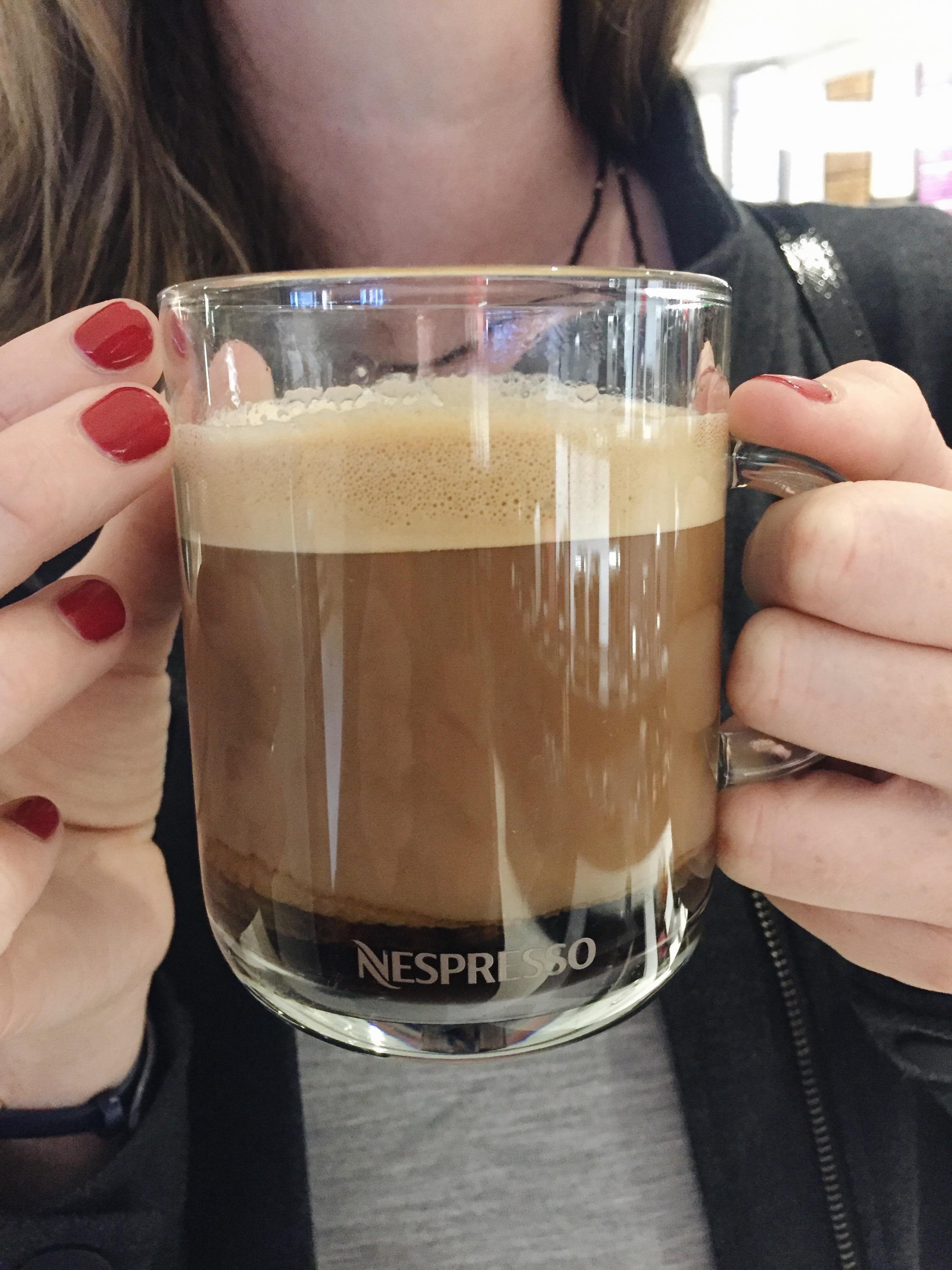 Coffee tasting at Nespresso