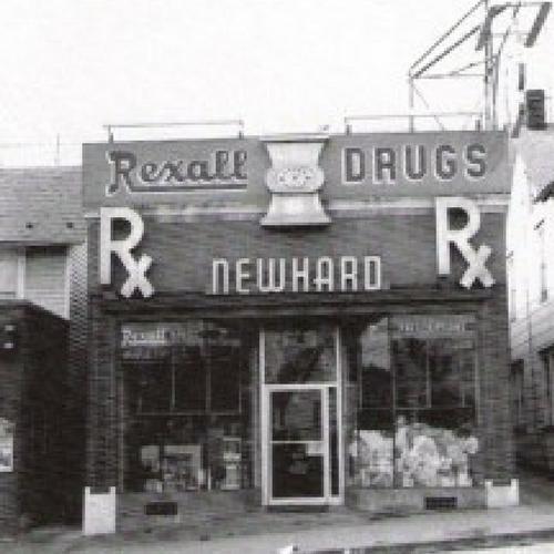Newhard's Pharmacy's new location, at 1216 Main St., Northampton;  Photo Source