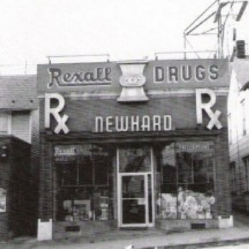 Newhard's Pharmacy's new location, at 1216 Main St., Northampton;  Photo Source