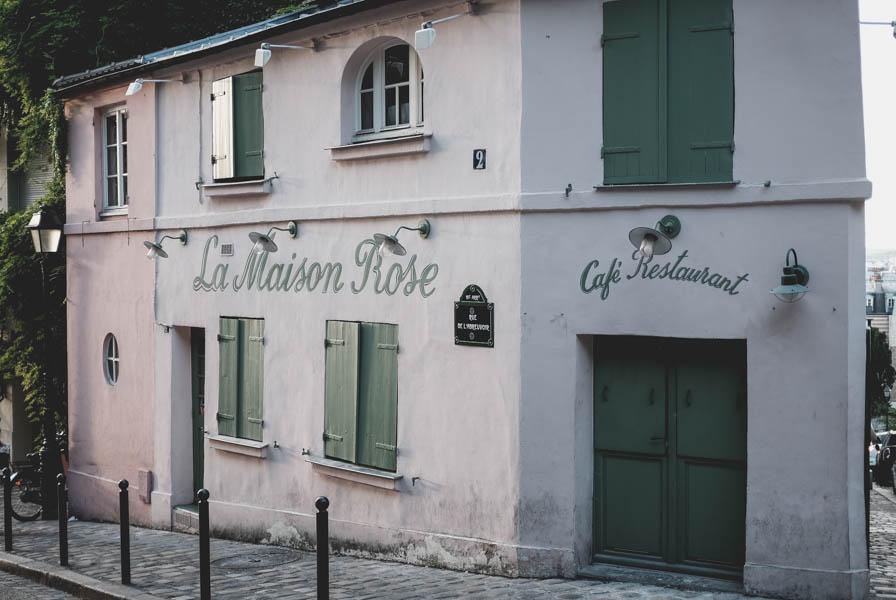 La Maison Rose. Montmartre.