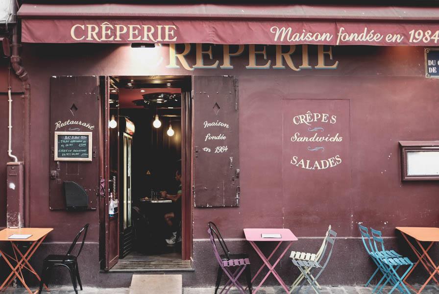 Vieną iš pirmų kartų Paryžiuje buvau apsistojusi Montmartre ir atsimenu kai ėjau vakarieniautį į štai šitą restoraną.    When I was in Paris for the first time I stayed in Montmartre. I still remember this restaurant and my dinner here.