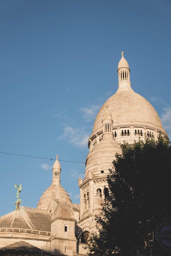Šv. Jėzaus širdies bazilika, Montmartras.    Sacré-Coer, Montmartre.