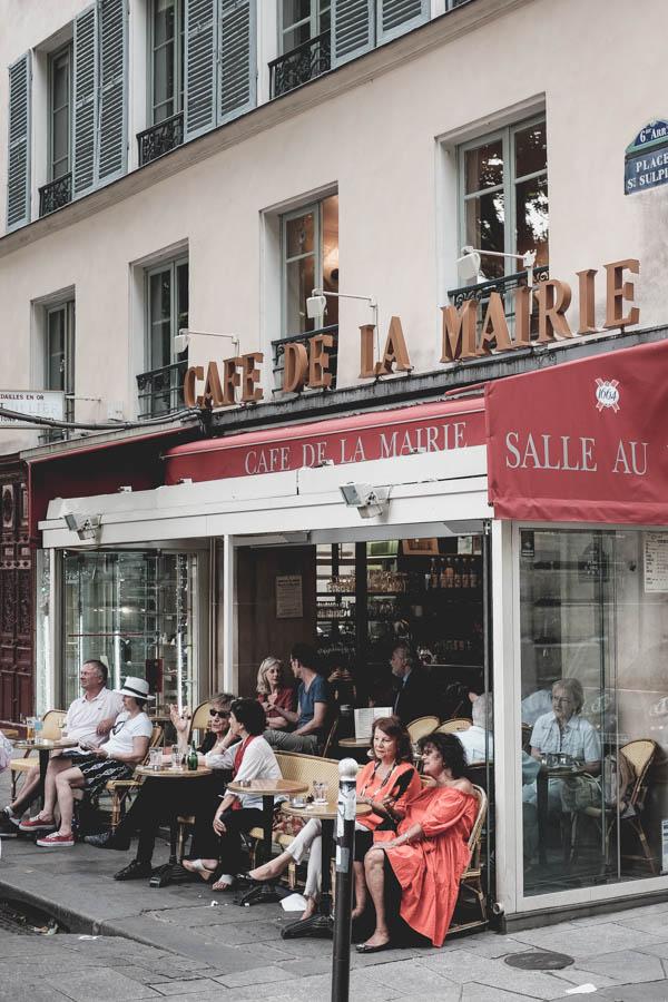Café de La Mairie. Mano mėgstamiausia...    Café de La Mairie.My favorite one...