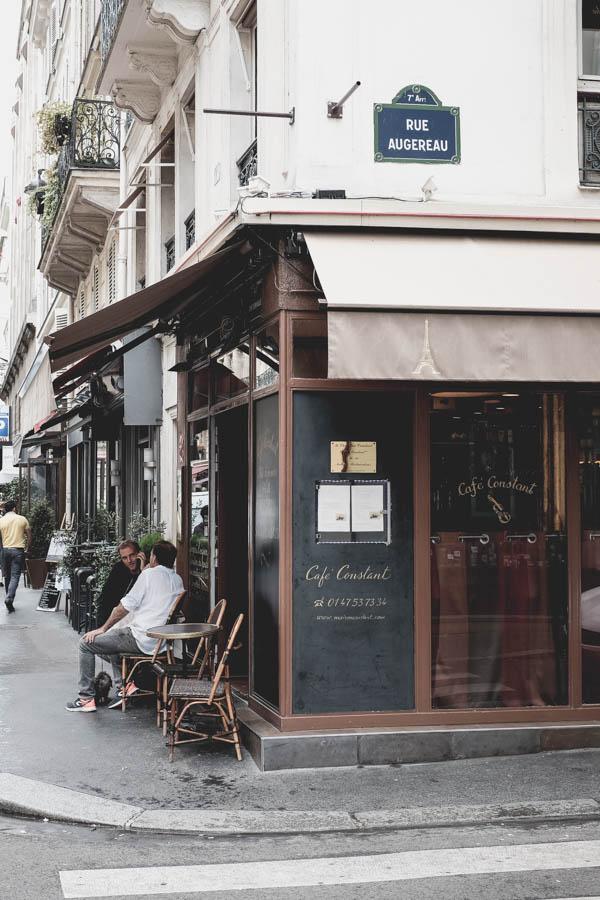 Café Constant. Dar vienas puikus paryžietiškas restoranas.    Café Constant. One more perfect parisian restaurant.