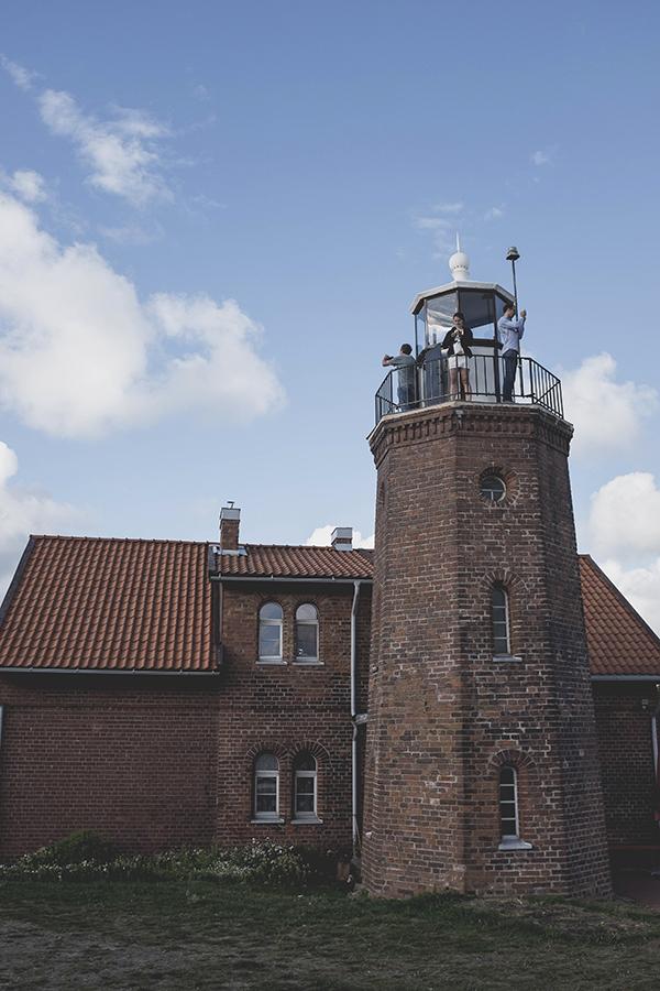 Švyturys. Ventes Ragas.  Lighthouse. Venetes Cape.