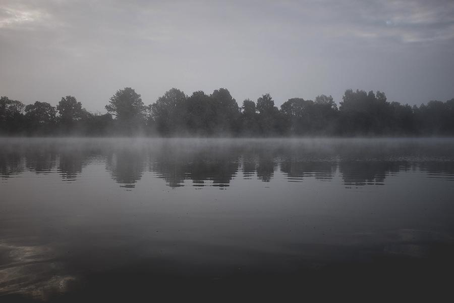 Rytas Žemaičių Namiestyje.  Morning at Žemaiciu Naumiestis.