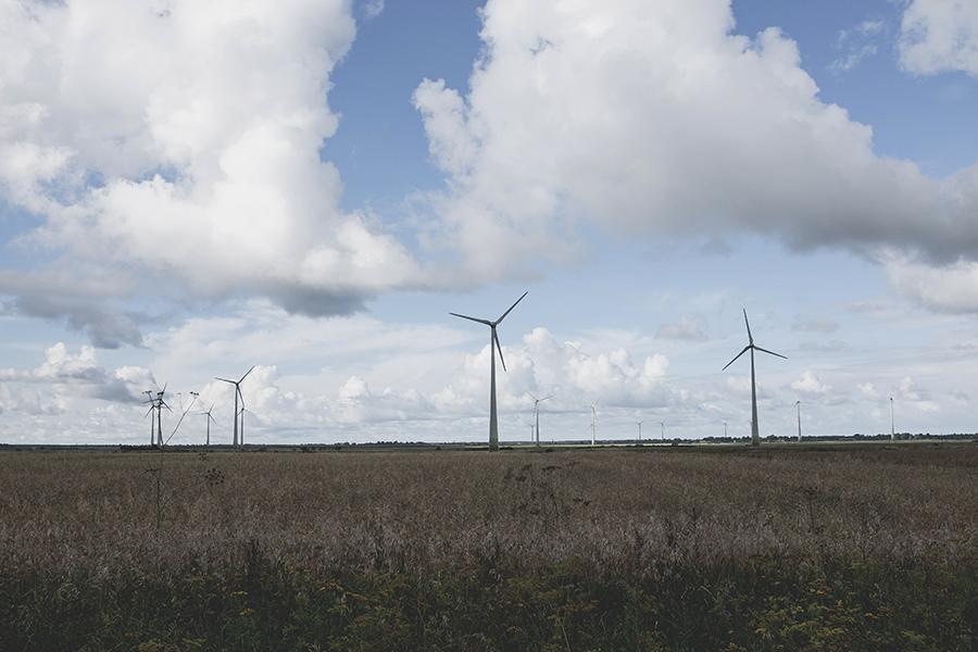 Vėjo malūnai.  Windmill.