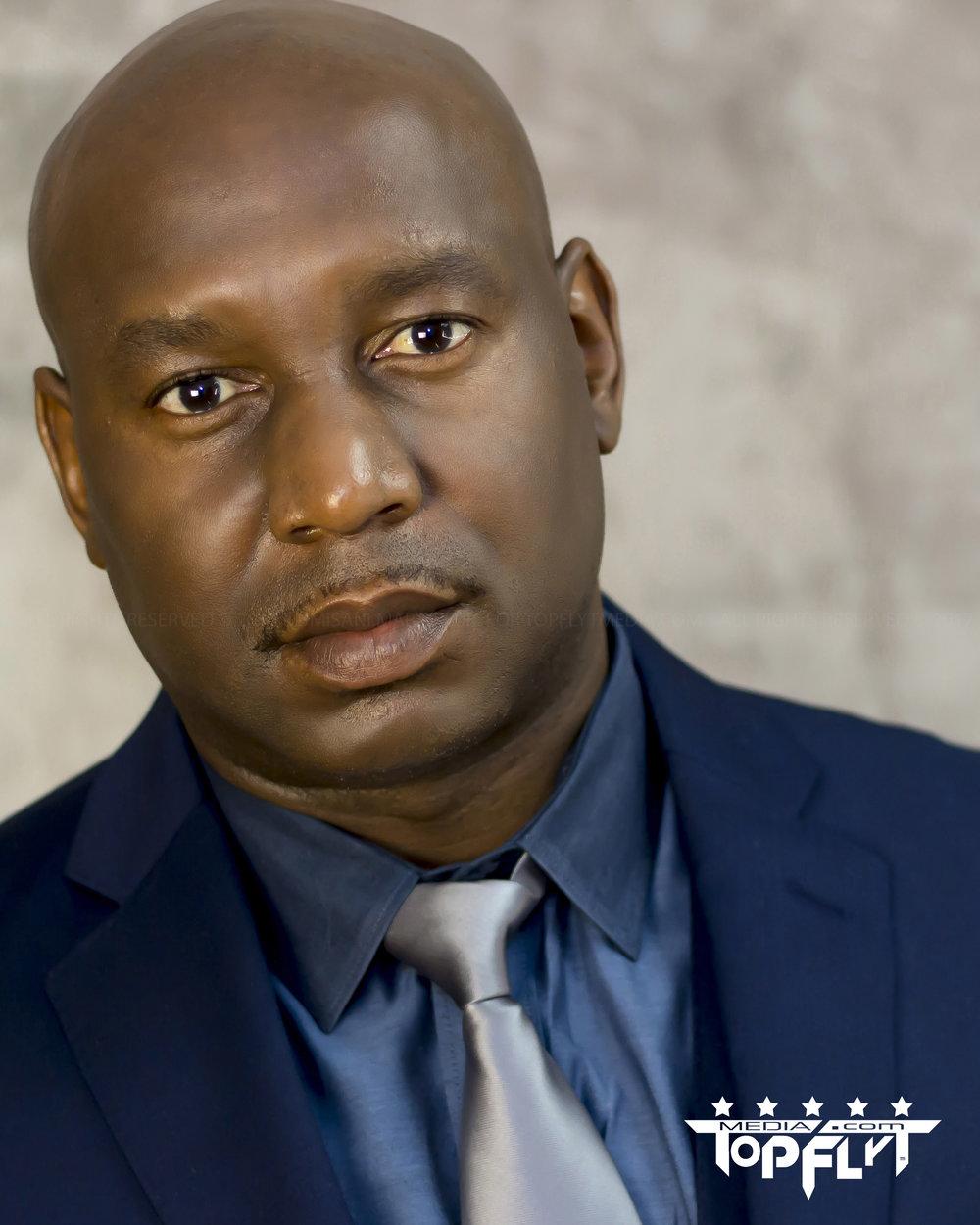 Kanyile Kay Fritz Ka-Ngwenya - Actor Headshots