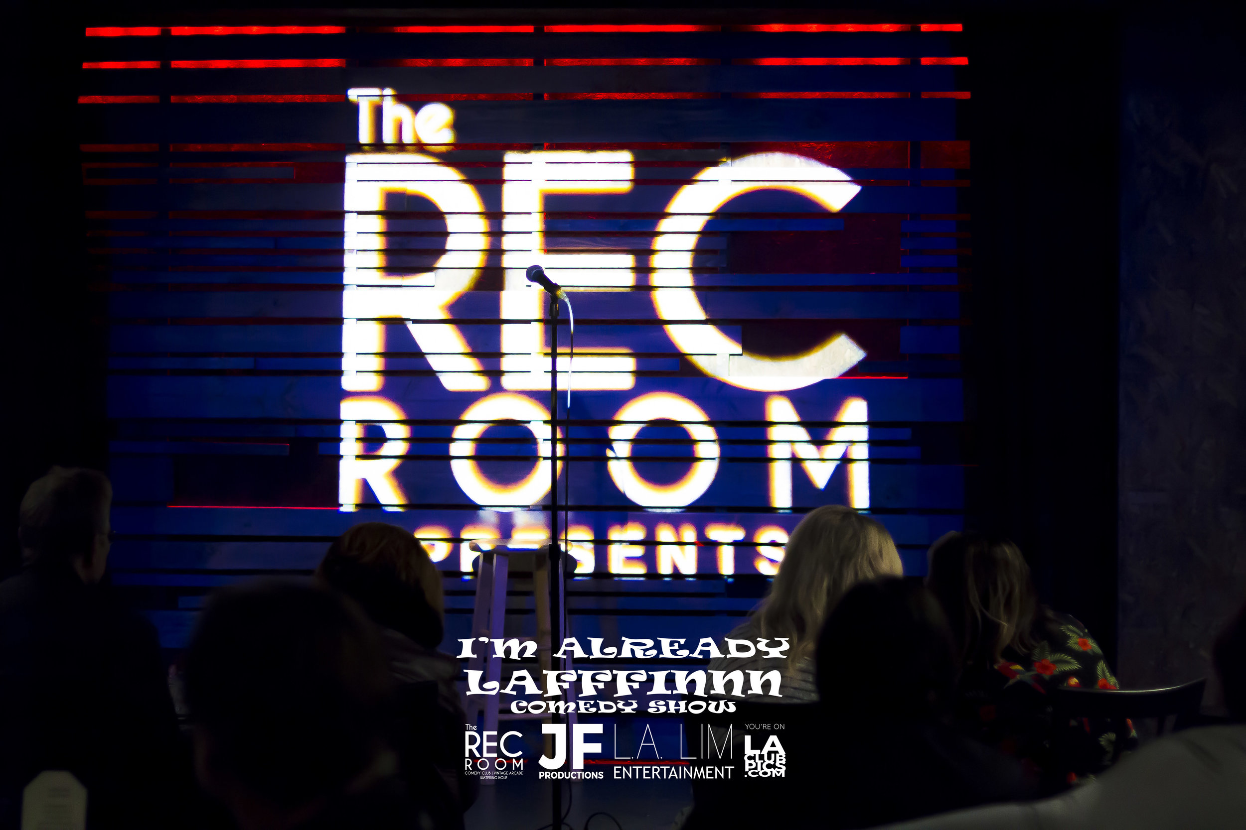 The Rec Room Huntington Beach Stage