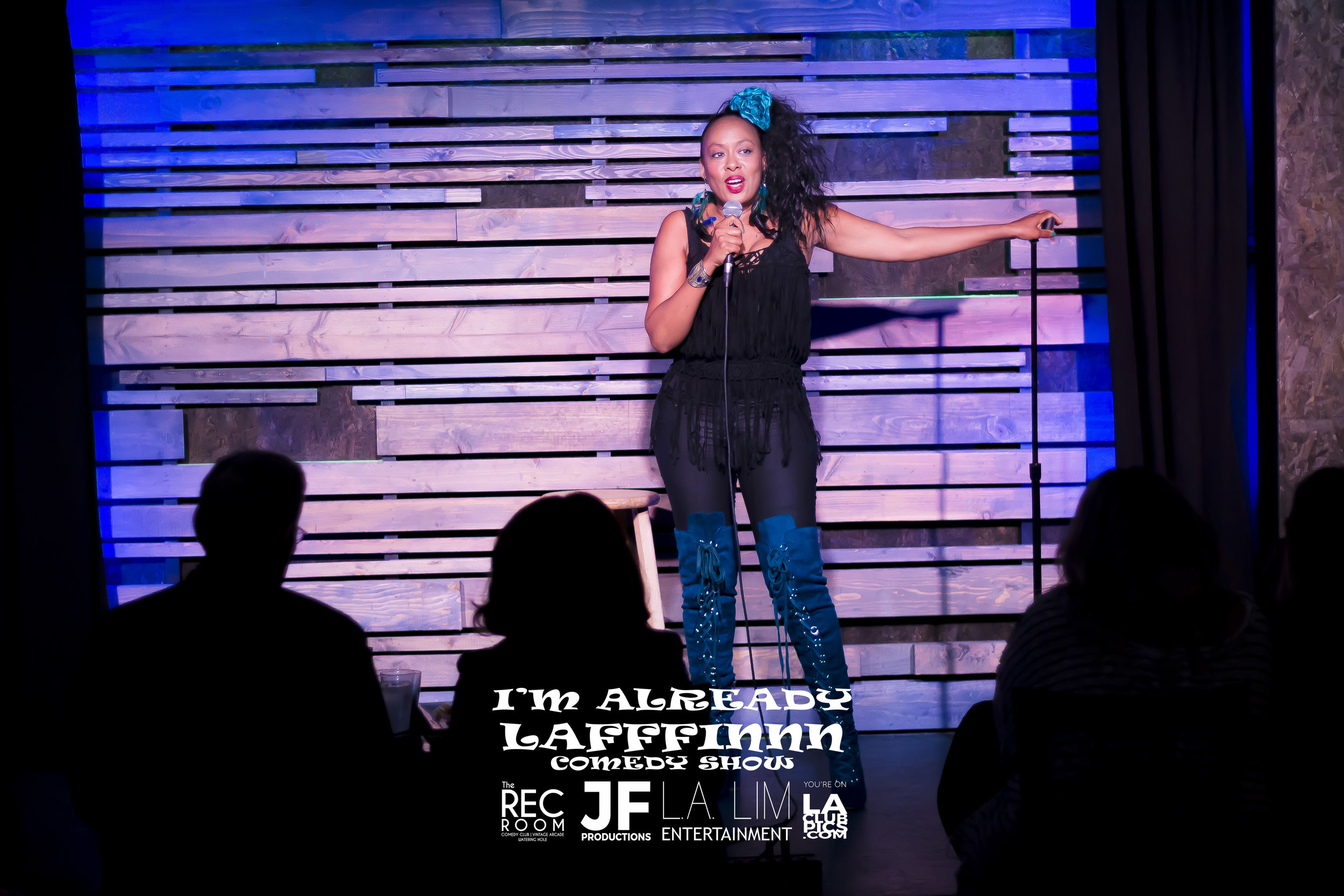 Comedian Sandra Brown