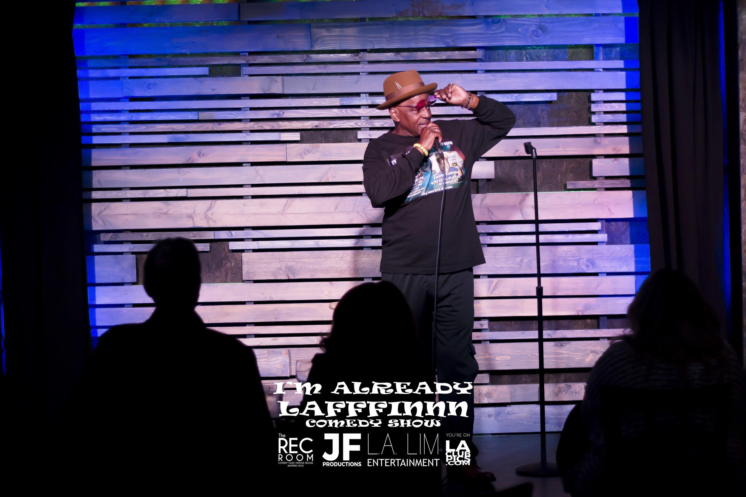 Comedian Johnnie Flowers