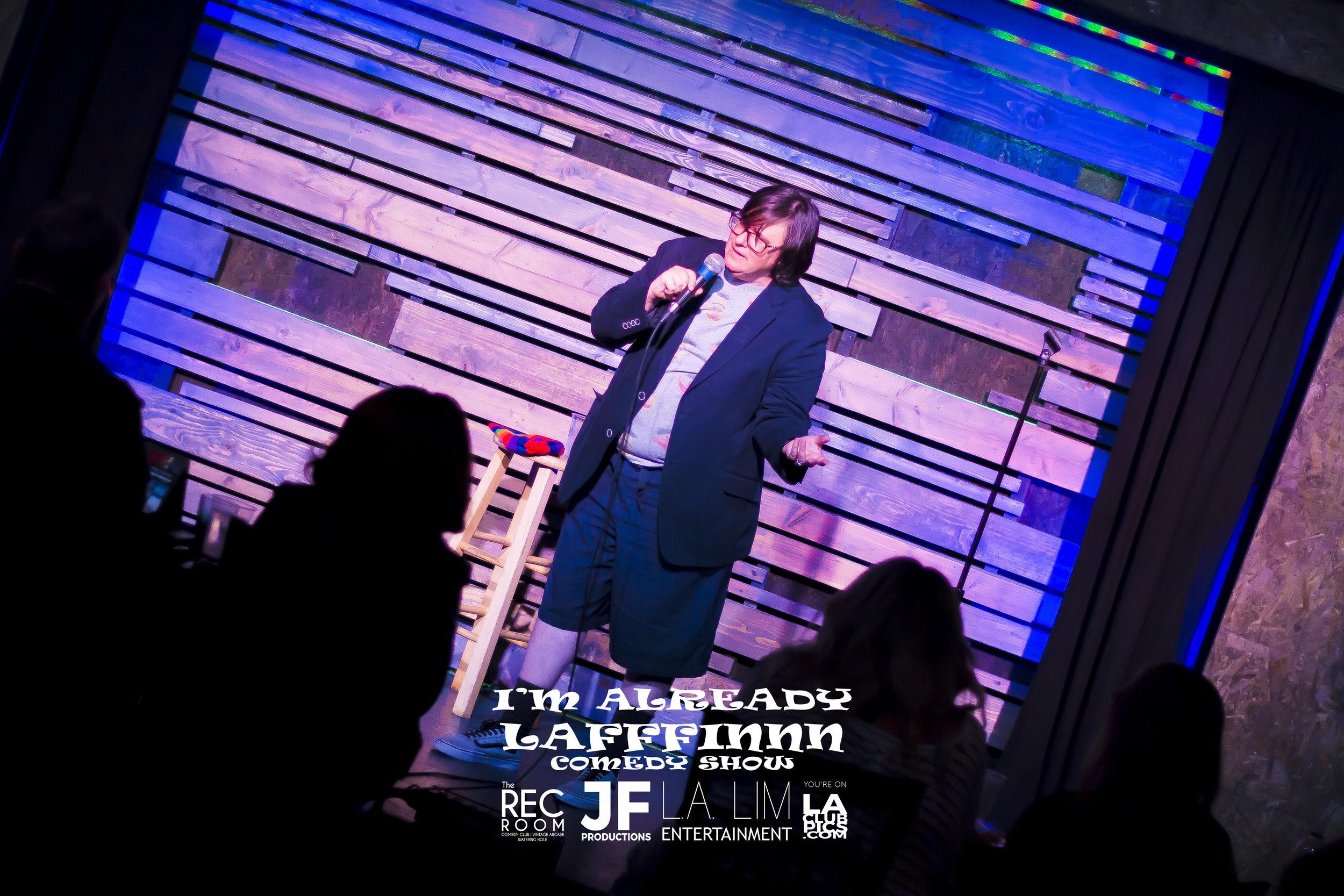 Comedian TJ Huberg