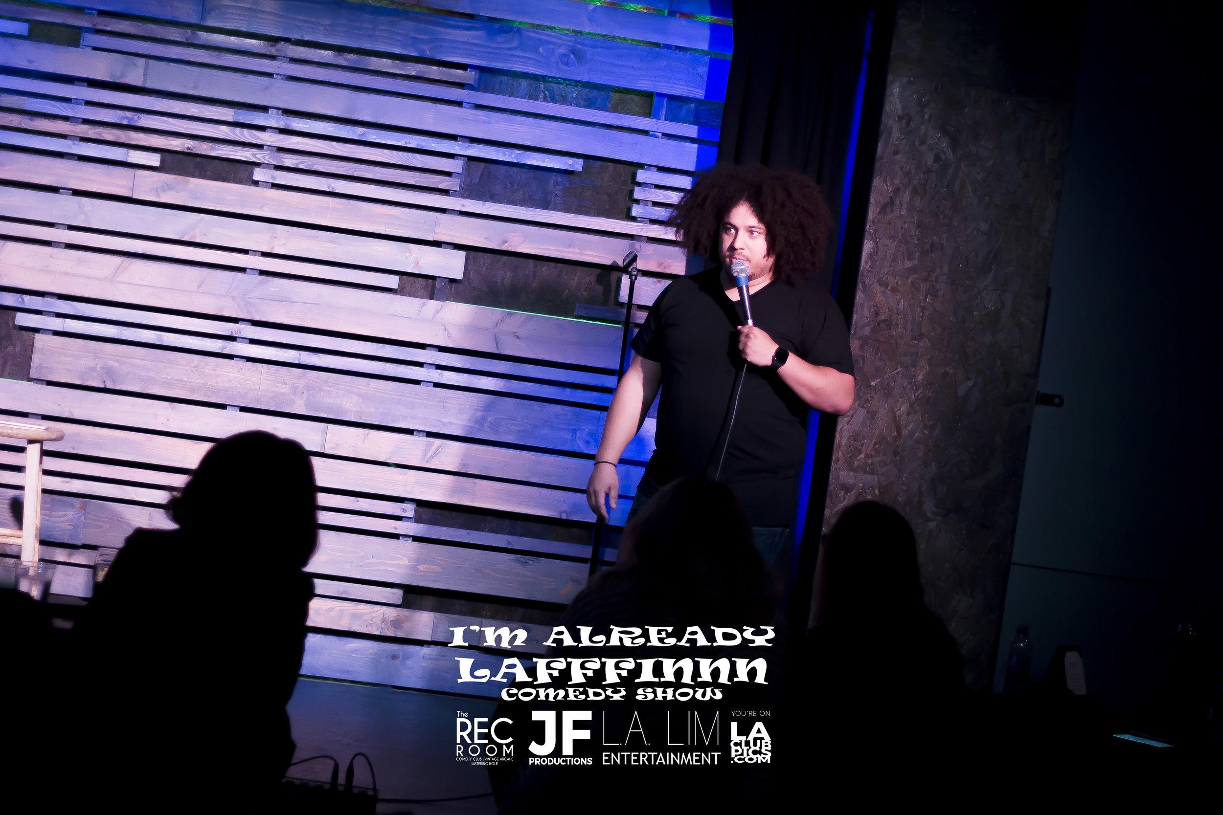 Comedian Kenny Weber