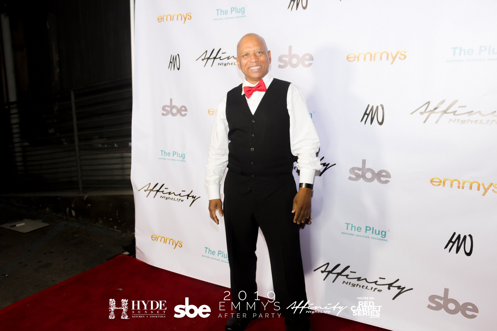 Hollywood Martial Artist Ewart Chin @ the 2019 Emmys After Party