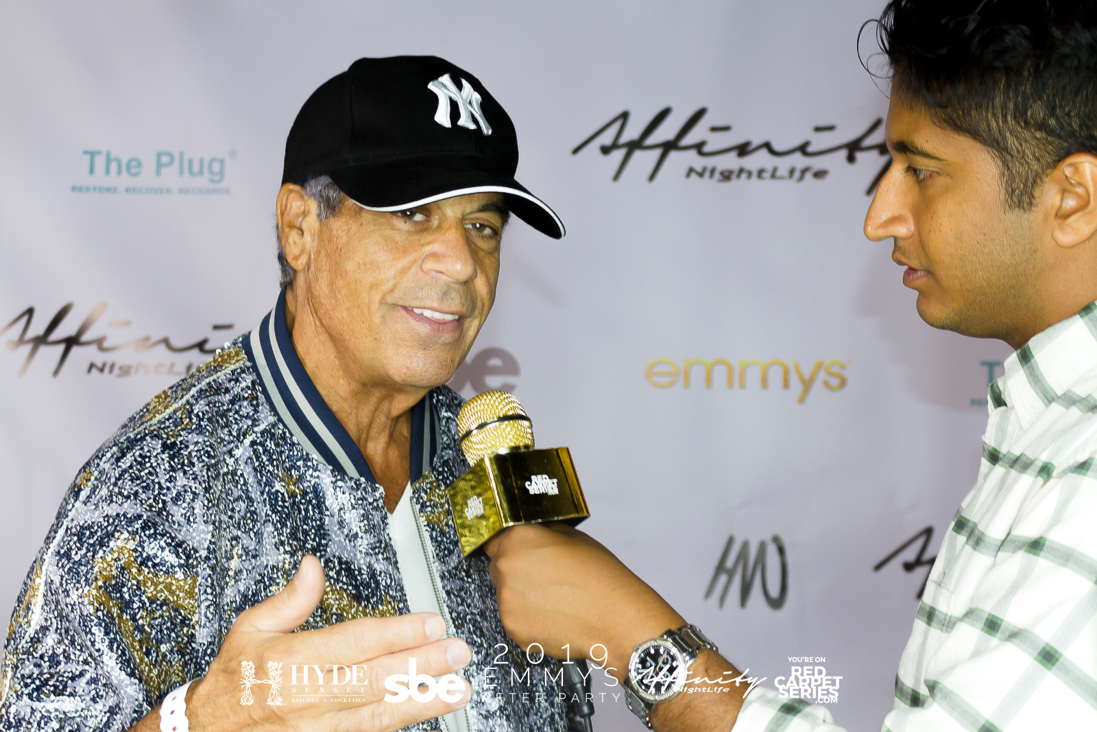 Honorary Mayor of Beverly Hills David Harrison Levi @ 2019 Emmys After Party
