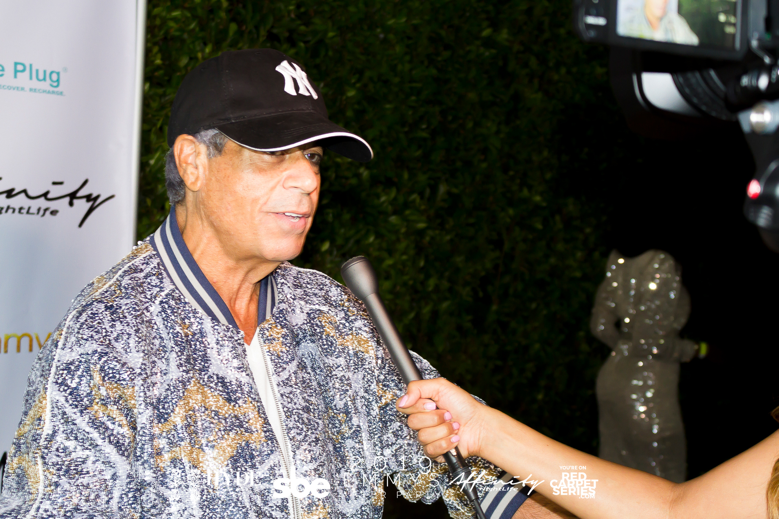 Honorary Mayor of Beverly Hills David Harrison Levi on the red carpet