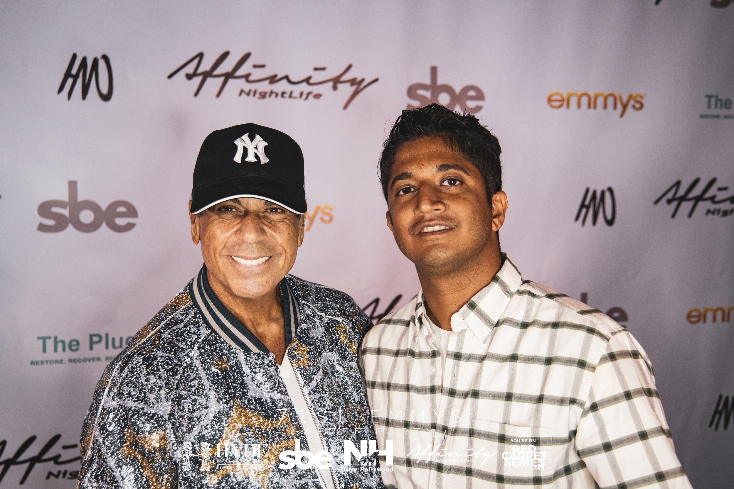 Honorary Mayor of Beverly Hills David Harrison Levi & Ashwin Jacob of New Hollywood