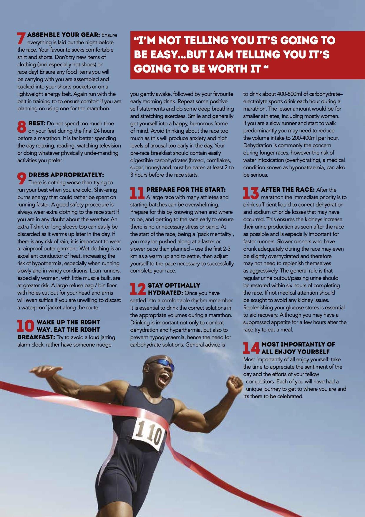marathon tips 2