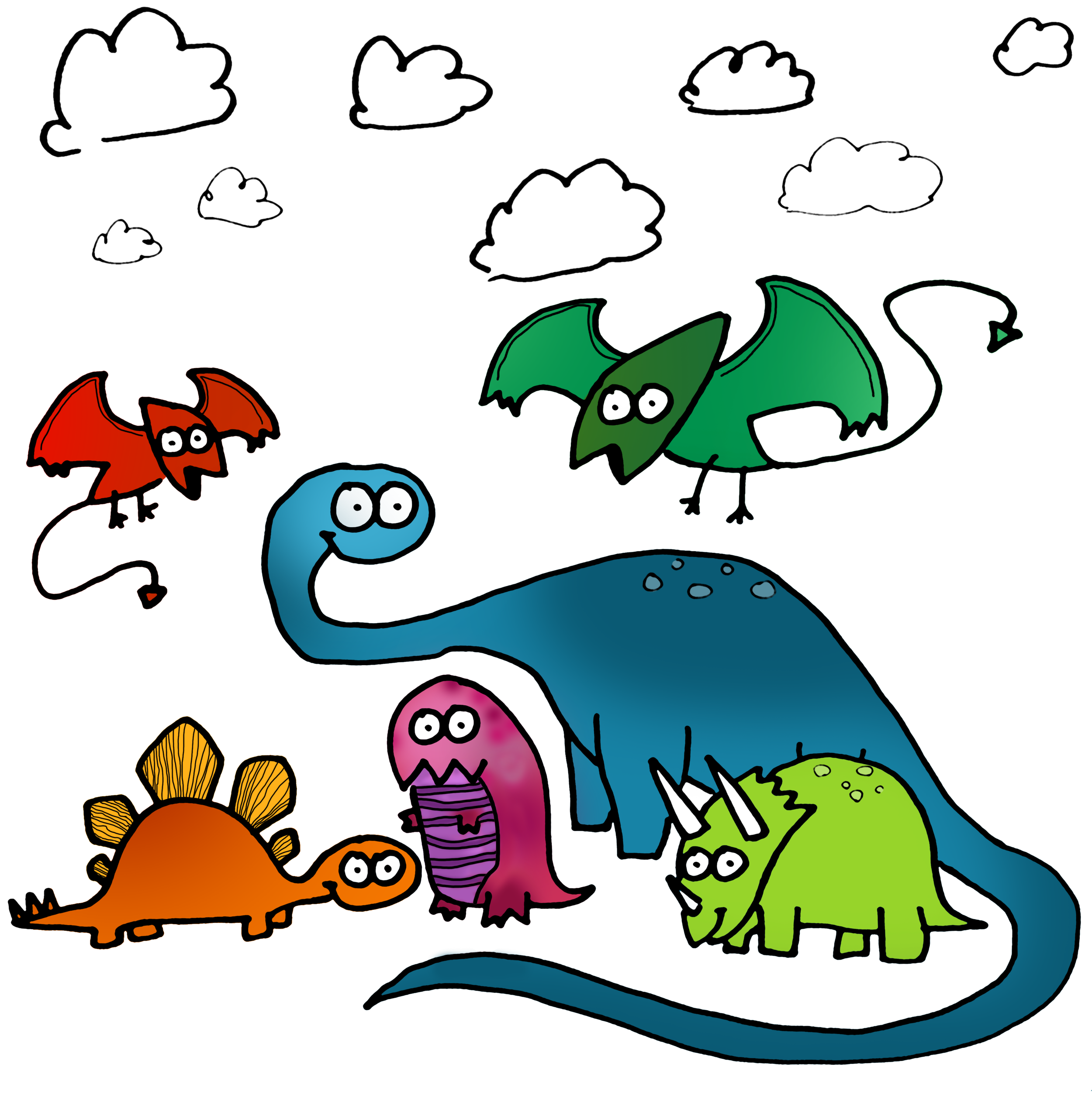 a dino party is a very good time