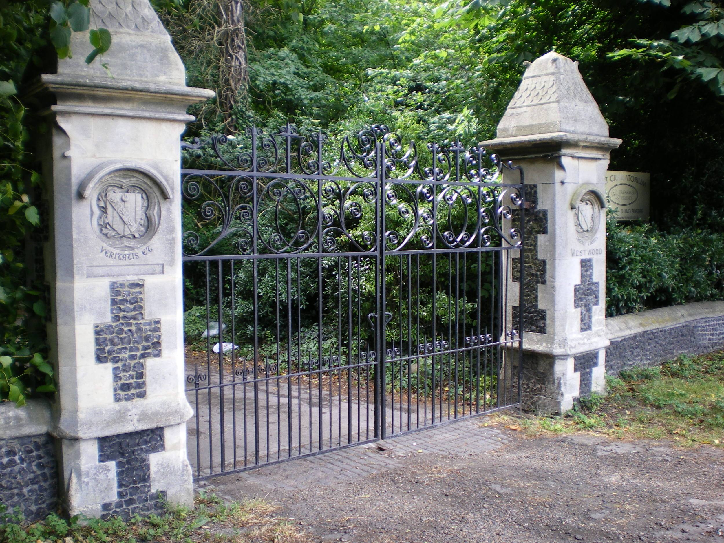 Estate Entrance Gate - Maurice Gill Blacksmith