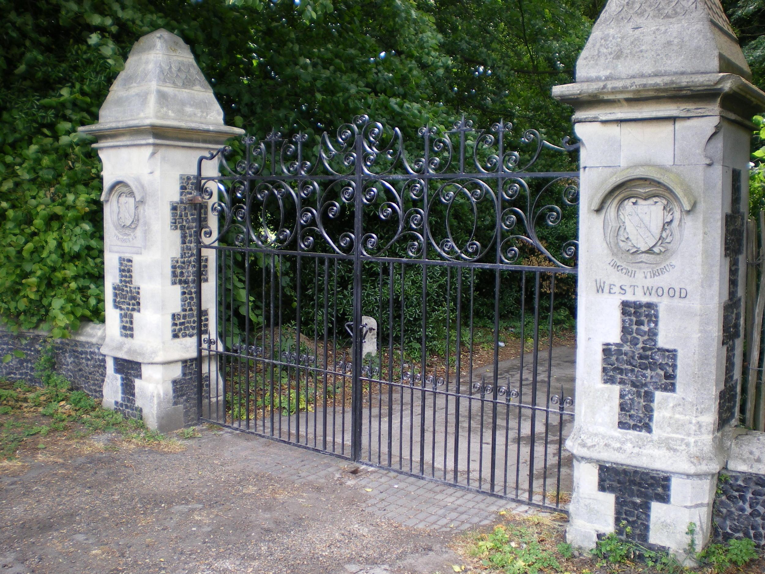 Estate Entrance Gate