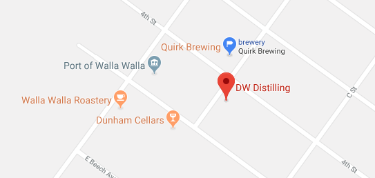 We are walking distance from Dunham Cellars, Walla Walla Roastery, and Quirk Brewing.