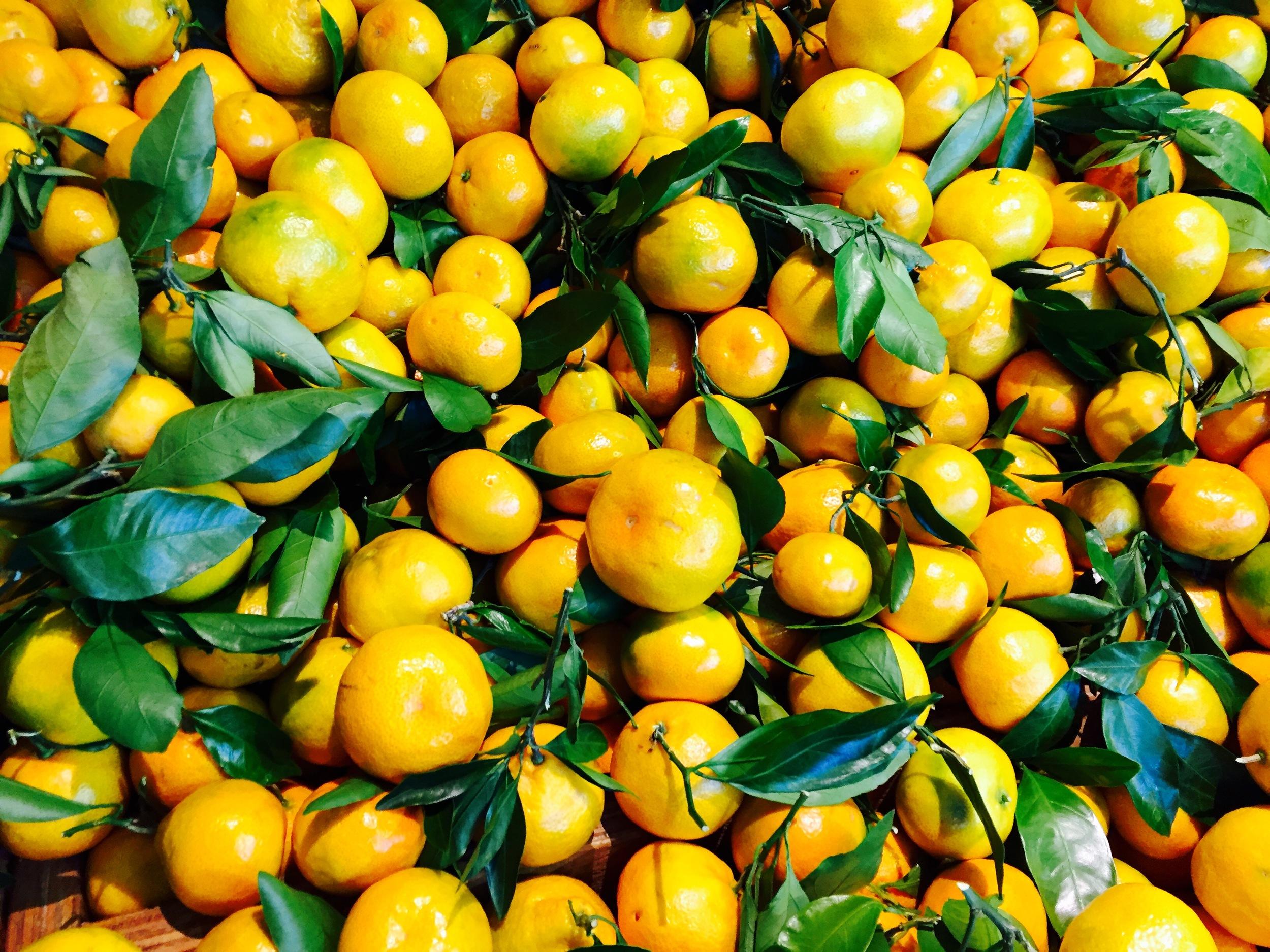 Mandarinai be gliuteno