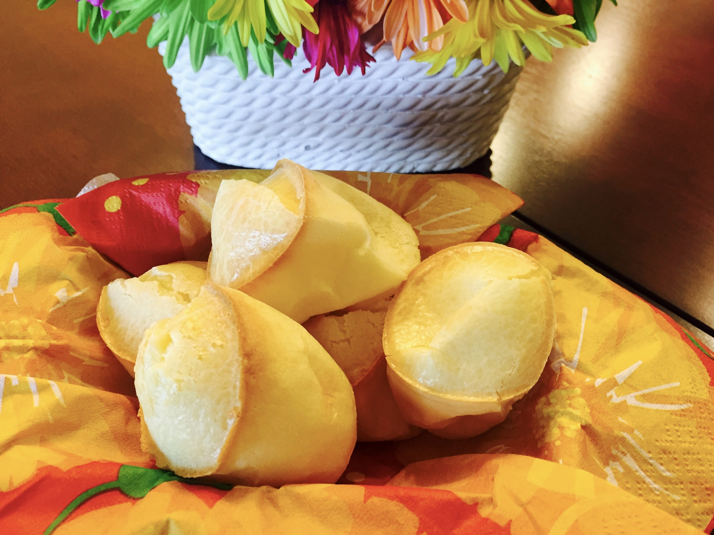 Namuose kepta braziliška sūrio duona
