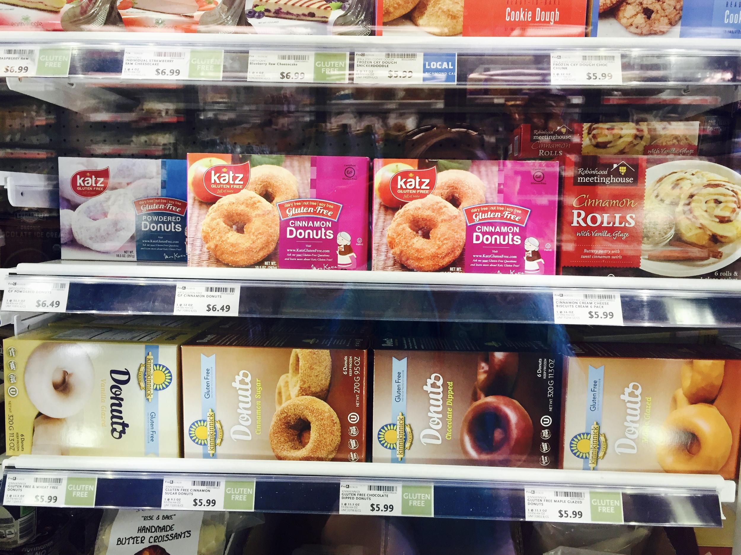 Donutsai be gliuteno